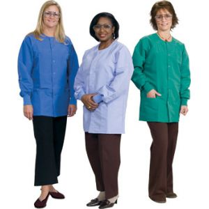 "DL146 Ladies Short Length Lab Jackets (31.5"")"