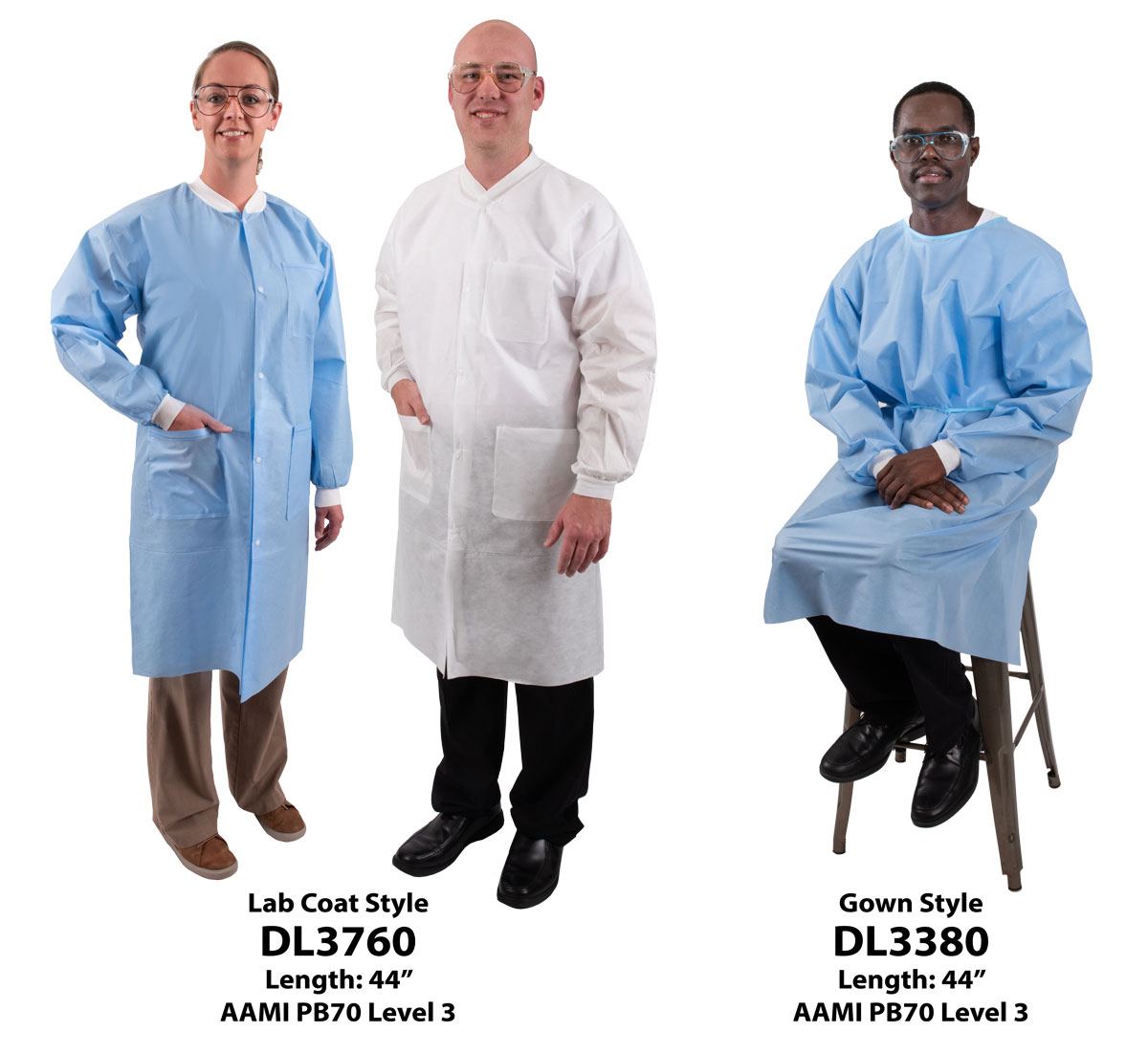 DenLine Disposable Lab Coats and Gowns