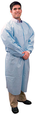 Fluid Resistant Disposable Isolation Gowns