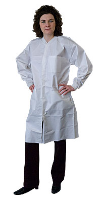 Impervious Disposable Lab Coats